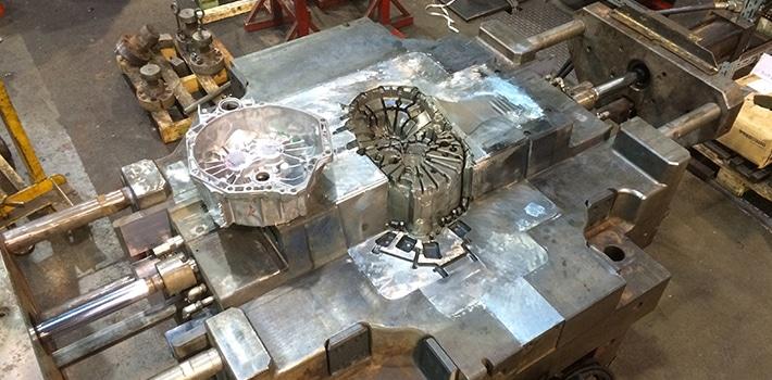Moule de coulée d'aluminium
