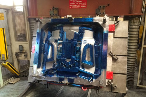 repair of plastic injection moulds